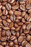 Background image of roasted coffee beans. Stock Photo - Royalty-Free, Artist: sumners                       , Code: 400-04801206
