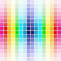 The beautiful gradient rainbow colors palette, background design Stock Photo - Royalty-Freenull, Code: 400-04805306