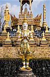 Buddha statue Can you see them in Thai Temple In Thailand Stock Photo - Royalty-Free, Artist: kuponjabah                    , Code: 400-04805783