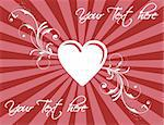 St. Valentine's day texture, heart with floral designs Stock Photo - Royalty-Free, Artist: amphotos_ct                   , Code: 400-04806619