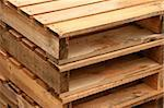 Set of  Wood pallet stack together - texture for wood Stock Photo - Royalty-Free, Artist: fiftycents                    , Code: 400-04807685