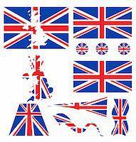 uk flag   Stock Photo - Royalty-Freenull, Code: 400-04810096