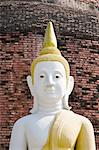 Buddha statue thai temple Chachengsao in Thailand Stock Photo - Royalty-Free, Artist: kuponjabah                    , Code: 400-04816537