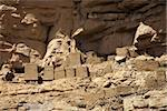 The Bandiagara site is an outstanding landscape of cliffs and sandy plateaux with some beautiful Dogon architecture Stock Photo - Royalty-Free, Artist: watchtheworld                 , Code: 400-04817990