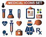 Medicine & Heath Care Stock Photo - Royalty-Free, Artist: icons                         , Code: 400-04821550