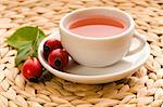 rose hip tea Stock Photo - Royalty-Free, Artist: joannawnuk                    , Code: 400-04823558