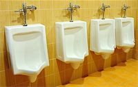 urinals at office Stock Photo - Royalty-Freenull, Code: 400-04824470
