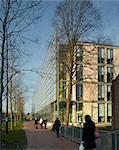 Engineering and Reception Building, Highfield Campus, University of Southampton, Hampshire. 2006. Architects: John McAslan and Partners Stock Photo - Premium Rights-Managed, Artist: Arcaid, Code: 845-04826551