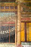 Fresco detail from the Villa dei Misteri, Roman site of Pompeii, Italy Stock Photo - Premium Rights-Managed, Artist: Arcaid, Code: 845-04826635