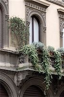 Architectural details, Milan. Stock Photo - Premium Rights-Managednull, Code: 845-04826798