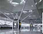Stansted Airport, Essex, 1981 - 1991. Architects: Foster Associates Stock Photo - Premium Rights-Managed, Artist: Arcaid, Code: 845-04826824