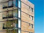 Shepherds Wharf Apartments, Plymouth. Architects: FORM Design Group Stock Photo - Premium Rights-Managed, Artist: Arcaid, Code: 845-04826921