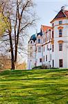beautiful romantic ancient  castle Celle, Niedersachsen, Germany