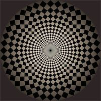 Abstract design with geometric shapes optical illusion illustration Stock Photo - Royalty-Freenull, Code: 400-04836794
