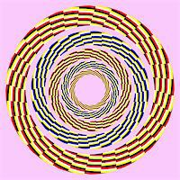 apparent helix.optical illusion Stock Photo - Royalty-Freenull, Code: 400-04836799