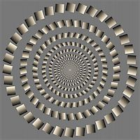 Abstract design with geometric shapes optical illusion illustration Stock Photo - Royalty-Freenull, Code: 400-04836810