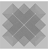 Abstract design with geometric shapes optical illusion illustration Stock Photo - Royalty-Freenull, Code: 400-04836818