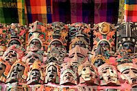 Colorful Mayan mask indian culture in Jungle handcrafts Stock Photo - Royalty-Freenull, Code: 400-04837567