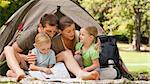 Family camping in the park Stock Photo - Royalty-Free, Artist: 4774344sean                   , Code: 400-04839480