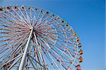 Ferris wheel under blue sky Stock Photo - Royalty-Free, Artist: tomwang                       , Code: 400-04839989