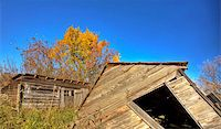 Old Rustic Granary storage Saskatchewan Canada Stock Photo - Royalty-Freenull, Code: 400-04852405