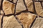 Fragment of multicolor ornamental stone wall covering Stock Photo - Royalty-Free, Artist: qiiip                         , Code: 400-04857263