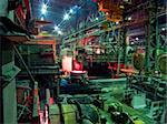 Metallurgical plant, works, shop, melt department Stock Photo - Royalty-Free, Artist: makspogonii                   , Code: 400-04870984