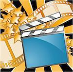 Can be used fo movies and cinema events Stock Photo - Royalty-Free, Artist: assemassal                    , Code: 400-04877570