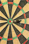 Concept of having business success by throwing darts Stock Photo - Royalty-Free, Artist: Kartouchken                   , Code: 400-04888310