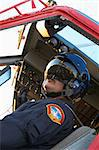 Pilot flying Medevac Stock Photo - Royalty-Free, Artist: MonkeyBusinessImages          , Code: 400-04890196
