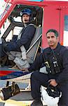 Portrait of pilot and paramedic by Medevac Stock Photo - Royalty-Free, Artist: MonkeyBusinessImages          , Code: 400-04890197