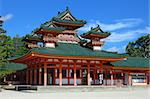 The historic Heian Shrine in Kyoto, Japan. Stock Photo - Royalty-Free, Artist: sepavo                        , Code: 400-04892790