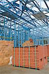 New home under construction using steel frames Stock Photo - Royalty-Free, Artist: LevKr                         , Code: 400-04893152
