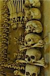 mortal remains in dark ossuary Stock Photo - Royalty-Free, Artist: kohy                          , Code: 400-04898789