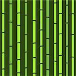 Green Bamboo seamless pattern. Vector background.   Stock Photo - Royalty-Free, Artist: lordalea                      , Code: 400-04899598