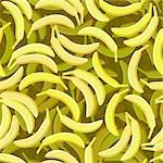 vector seamless yellow banana background repeat pattern Stock Photo - Royalty-Free, Artist: 100ker                        , Code: 400-04900399