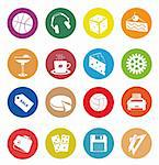 Web Icons. Vector illustration for you design