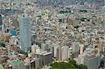 Aerial view of Tokyo, Japan cityscape in Shinjuku. Stock Photo - Royalty-Free, Artist: sepavo                        , Code: 400-04902963