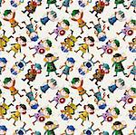 cartoon vikings pirate seamless pattern   Stock Photo - Royalty-Free, Artist: notkoo2008                    , Code: 400-04905364