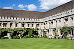 Quadrangle with cloisters at Magdalen College, Oxford Stock Photo - Royalty-Free, Artist: DoctorJools                   , Code: 400-04908952