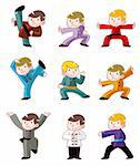 cartoon chinese Kung fu icon   Stock Photo - Royalty-Free, Artist: notkoo2008                    , Code: 400-04915527