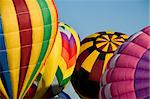 Several hot-air balloons being inflated Stock Photo - Royalty-Free, Artist: balefire9                     , Code: 400-04915866