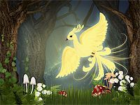 frbird - Illustration of fire-bird Stock Photo - Royalty-Freenull, Code: 400-04920274