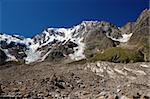 summer view of Monte Rosa glacier, Italian side Stock Photo - Royalty-Free, Artist: aletermi                      , Code: 400-04921228