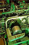 A huge mill in the production of steel sheet on coil Stock Photo - Royalty-Free, Artist: corepics                      , Code: 400-04923834