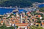 Panoramic view - Town of Mali Losinj Stock Photo - Royalty-Free, Artist: xbrchx                        , Code: 400-04924235