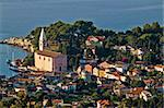Veli losinj panoramic aerial view, Island of Losinj, Croatia Stock Photo - Royalty-Free, Artist: xbrchx                        , Code: 400-04924236