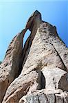 Needles Eye rock formation in Custer State Park of South Dakota. Stock Photo - Royalty-Free, Artist: Wirepec                       , Code: 400-04925097