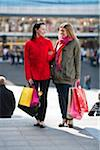 Pair of young women shopping Stock Photo - Premium Royalty-Freenull, Code: 6102-04929535