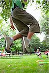 Close-Up of Man on Slackline Stock Photo - Premium Rights-Managed, Artist: Ty Milford, Code: 700-04931677